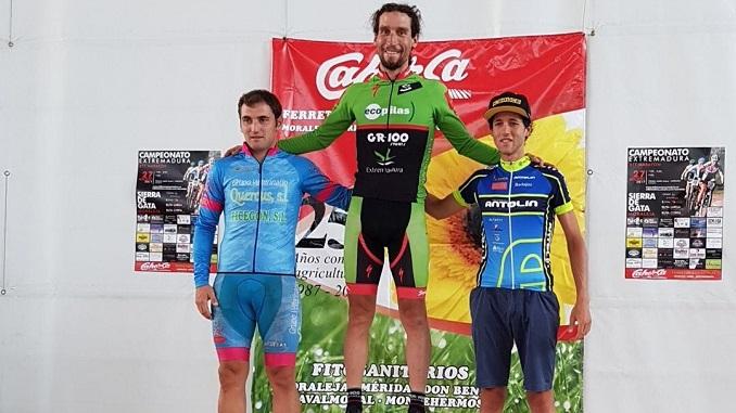 Pedro Romero Campeón de Extremadura BTT Maratón en Moraleja (1)
