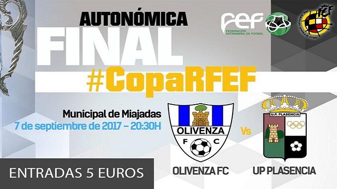 Final de la Copa Federación Fútbol Masculino en Miajadas