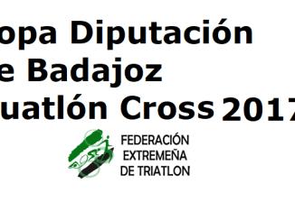 Copa Diputación de Badajoz Duatlón Cross 2017
