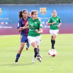El Barça muestra su superioridad ante el Santa Teresa Badajoz (1)