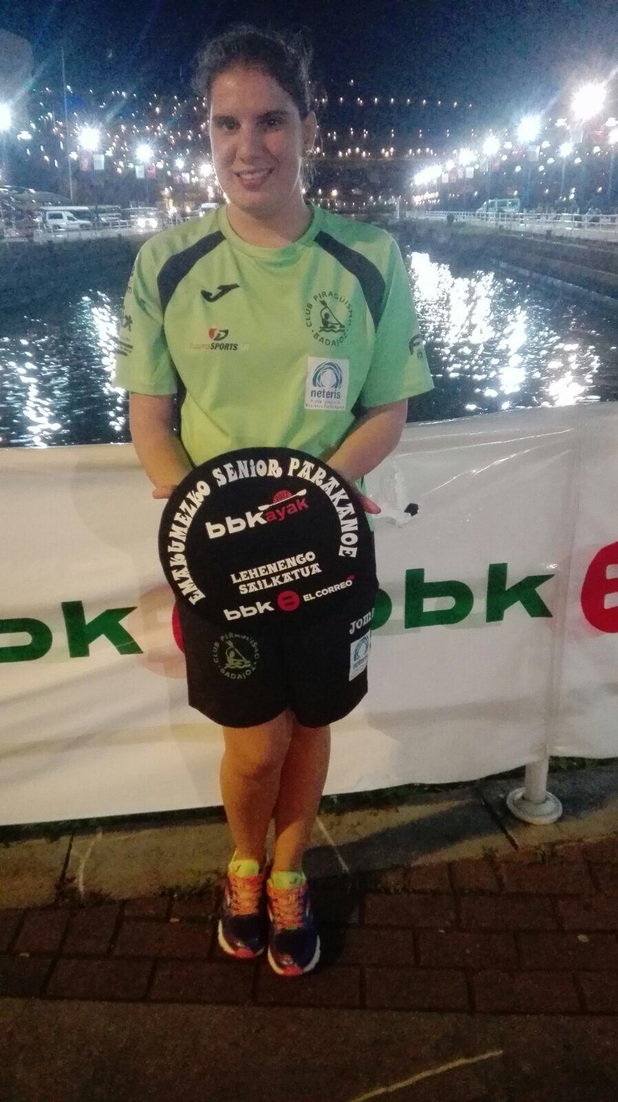 Elena Ayuso se impone en Bilbao