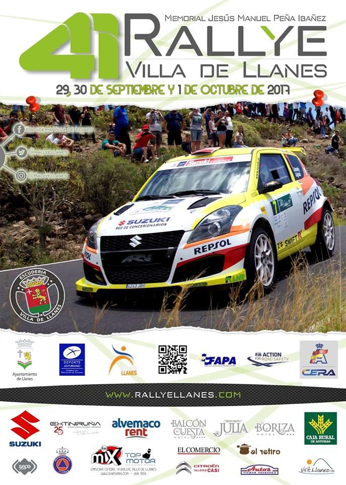 Sexto puesto de Reyes y Espinar en el 41 Rallye Villa de Llanes (2)