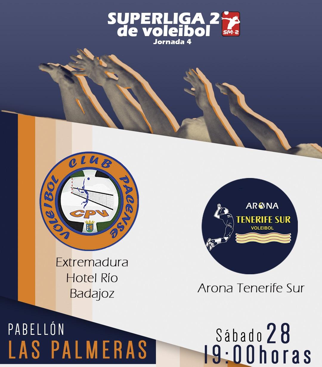 El Extremadura Hotel Río buscará en Las Palmeras su primera victoria