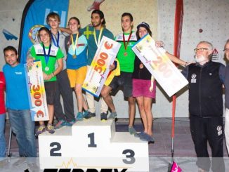 La selección extremeña consigue once medallas en los Campeonatos de España de Escalada