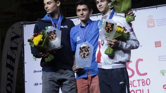 Alberto Gines ha conseguido proclamarse Campeón de Europa de Escalada de dificultad