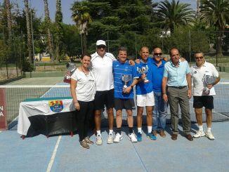 Antonio Mateos se proclama Campeón de Extremadura de Veteranos de Tenis