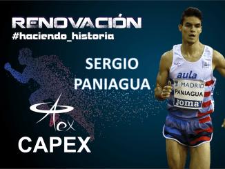 El Atleta Internacional Sergio Paniagua renueva con el CAPEX