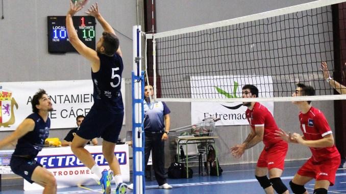 Electrocash Extremadura CCPH se enfrenata a la Selección Española Junior