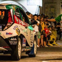 Los componentes del ERT sin suerte en el VIII Rallye Norte de Extremadura (3)