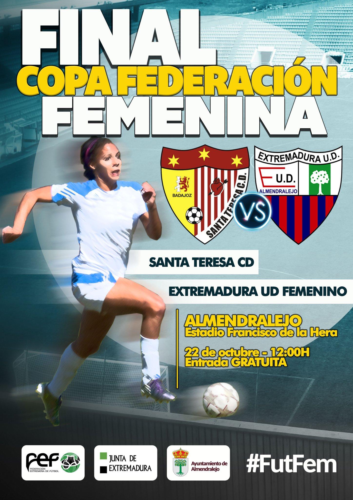 Presentación Final Copa Federación Extremadura