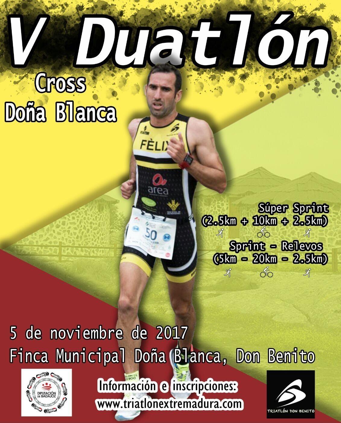 El V Duatlón Cross se celebrará este domingo en Don Benito