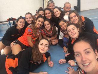 El Extremadura Hotel Río Badajoz femenino gana por 3-0 en Coria