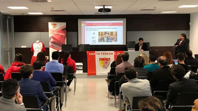 """El Santa Teresa Badajoz es """"un proyecto de todos"""". Éxito del encuentro empresarial"""