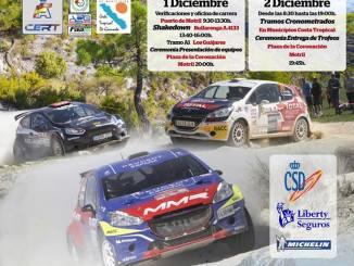 Blanco y Espino en el cierre del nacional de tierra Rallye Costa Tropical