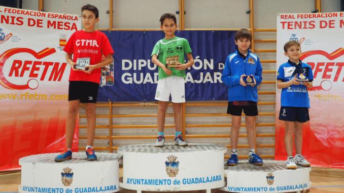 Marlon López del Tenis de Mesa de Almaraz se proclama campeón en el Nacional de Guadalajara
