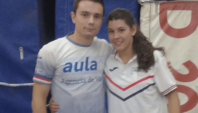 Gran actuación de los atetas del Capex en las competiciones de pista cubierta de Salamanca y Madrid