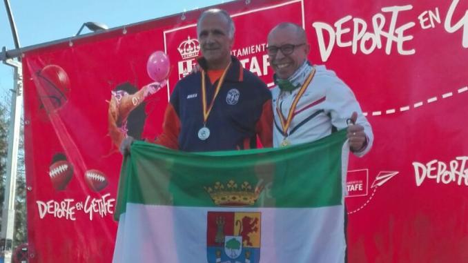 Miguel Periañez Campeón de España Máster M55 de Marcha