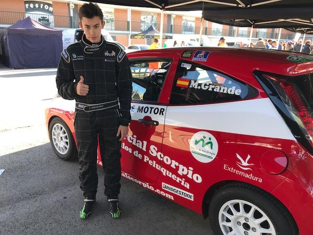 Sexta posición de Miguel Grande en el Trofeo Jarama de Navidad en la clase Kobe (5)