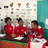 03 Marina Agoües y Alexyar Cañas llegan al Santa Teresa Badajoz como todo un reto (2)