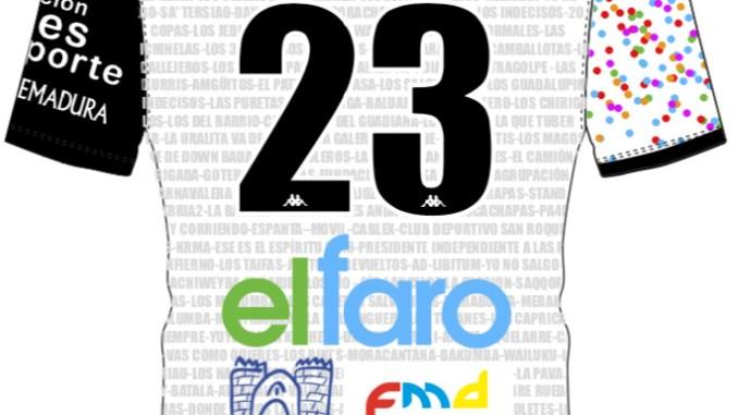 El CD Badajoz presenta su camiseta Carnavalera