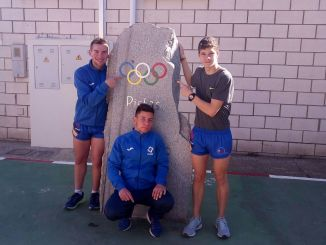 El Club de Atletismo Don Benito se desplazó a Montijo para buscar mínimas para los nacionales