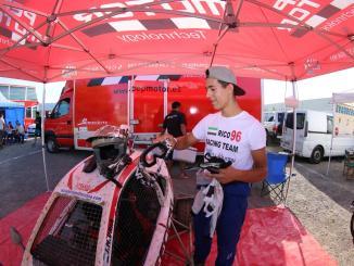 José Manuel Uría un ambicioso villanovense en el nacional de Autocross