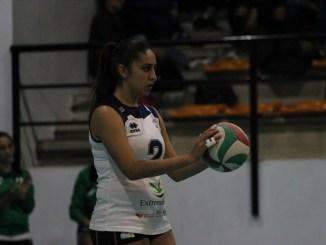 La canterana María Carrero, mejor sacadora de la 18ª jornada