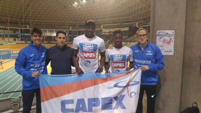 Sexto puesto de Sergio Paniagua en los 1500ML en el Campeonato de España Absoluto