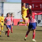 Un gran Santa Teresa Badajoz se queda sin recompensa ante el Atlético de Madrid (1)