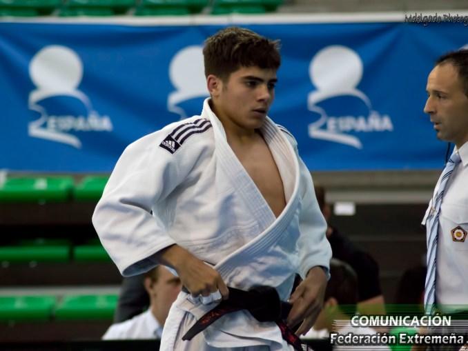 MIGUEL CALDERÓN - Nueve Extremeños clasificados para la final del Campeonato de España Júnior de Judo