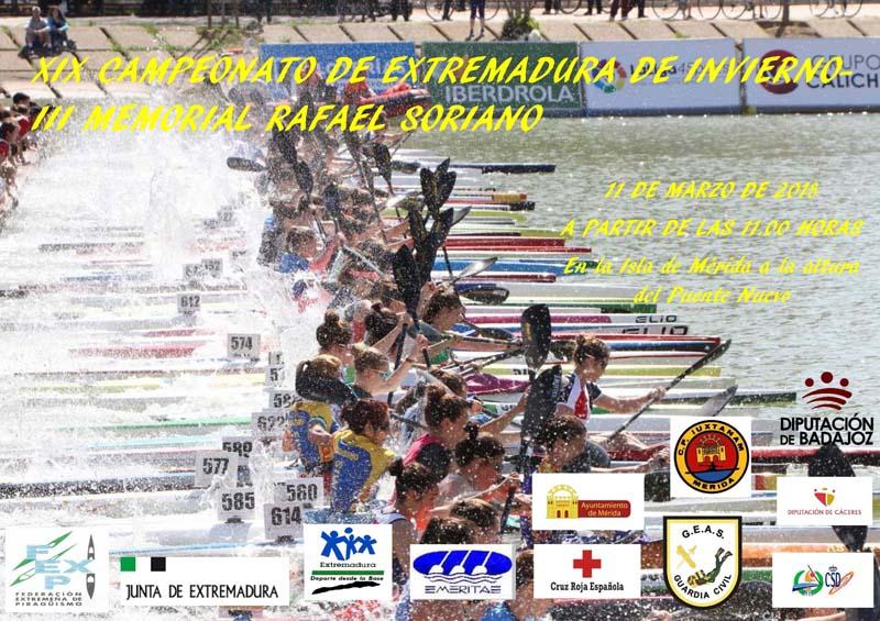 Elena Ayuso quiere continuar su buena trayectoria en el XIX Campeonato de Invierno de Piragüismo