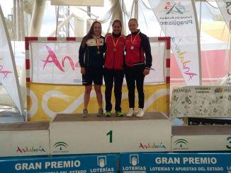 Estefanía Fernández Campeona de España Sub 23 en K1 5000 metros