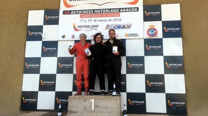 José Casado segundo de las Off Road Series en el XV Autocross Motorland Aragón