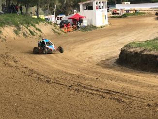 Dos extremeños entre los cuatro primeros en el I Autocross Escudería Ciudad de la Cerámica