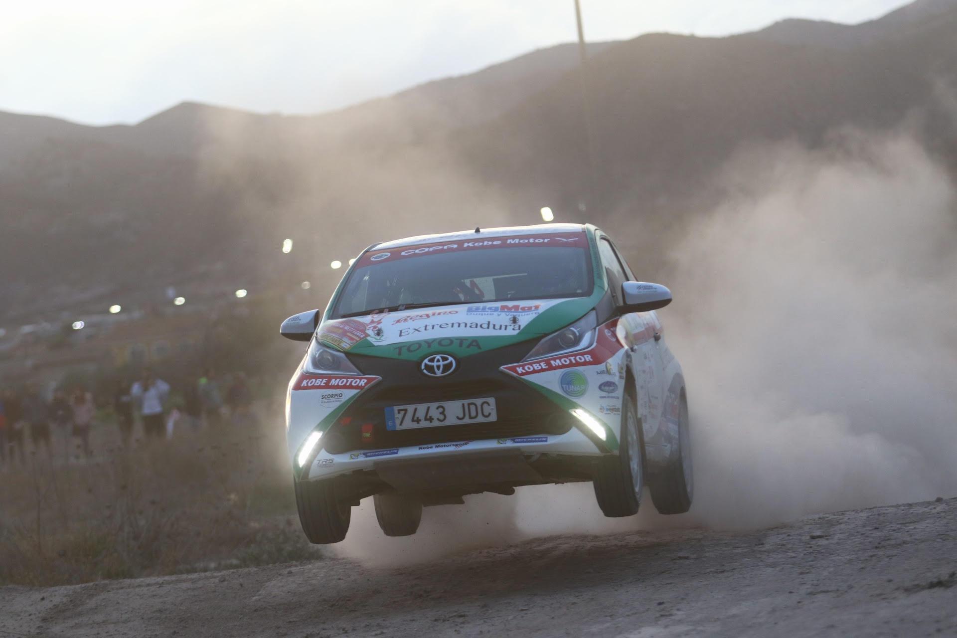 Una de cal y otra de arena para el Extremadura Rallye Team en Lorca (5)