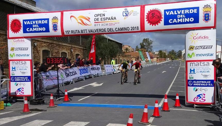 llegada Carreño_Marquez – Dani Carreño primer líder del Open España tras vencer en Valverde del Camino