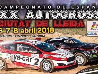 Dos vehículos de Ráfagas Racing en el Autocross de Lleida