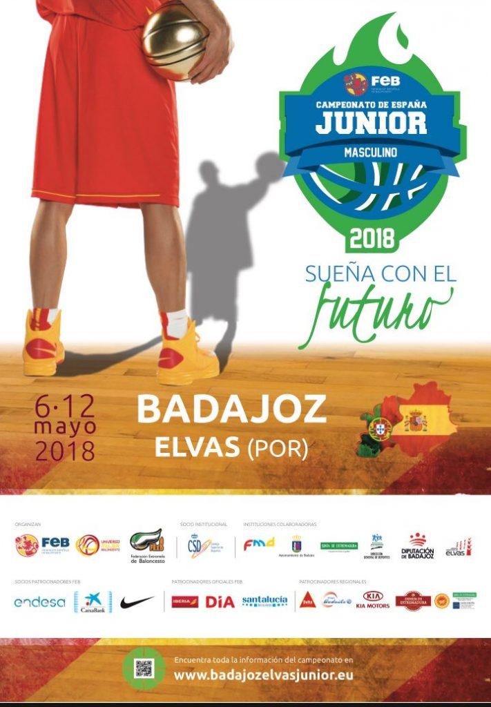 Fase de Grupos del Campeonato de España Junior Masculino después del sorteo