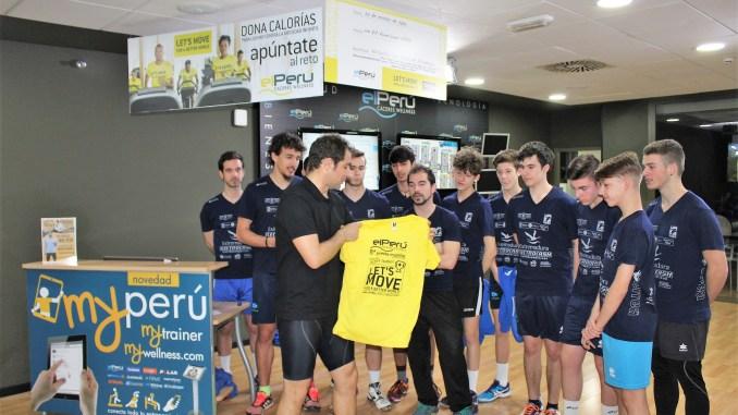 El Electrocash Extremadura CCPH colabora con el Perú Cáceres Wellness