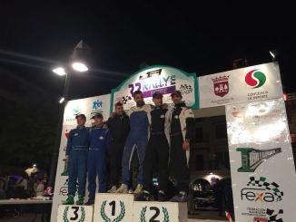 El Extremadura Rallye Team de notable en el Rallye Norte de Extremadura