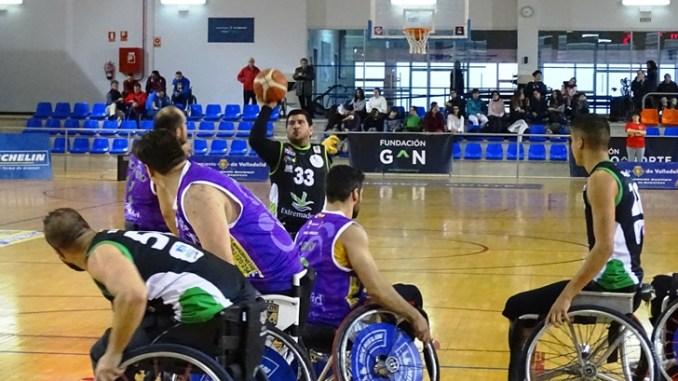 El Mideba Extremadura roza la victoria en Valladolid ante el Fundación Grupo Norte
