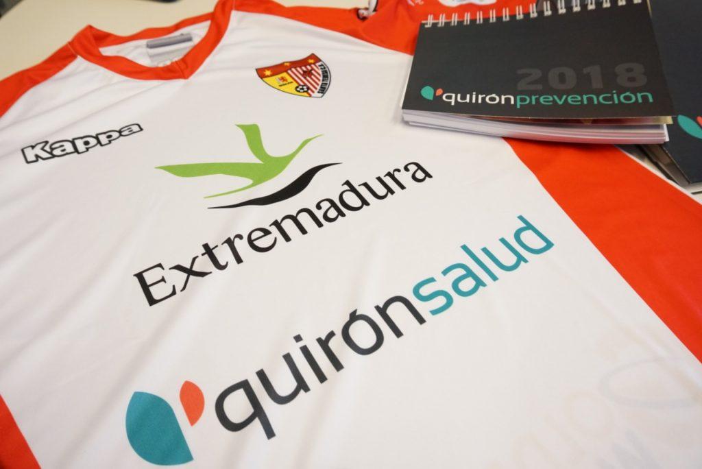 El Santa Teresa Badajoz firma un convenio con Quirónprevención
