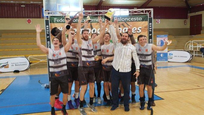 GRUPO PREVING BCB Gana la Primera División Nacional de baloncesto en Extremadura