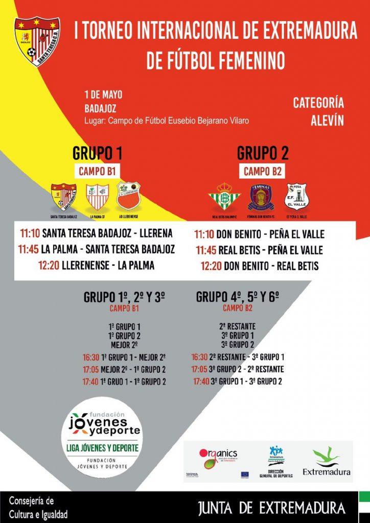 I Torneo Internacional de Extremadura de Fútbol Femenino