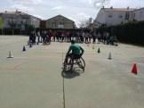 Integrantes del Mideba Extremadura estuvieron en Alburquerque para mostrar el baloncesto en silla de ruedas (3)