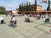 Integrantes del Mideba Extremadura estuvieron en Alburquerque para mostrar el baloncesto en silla de ruedas (6)