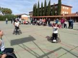 Integrantes del Mideba Extremadura estuvieron en Alburquerque para mostrar el baloncesto en silla de ruedas (7)