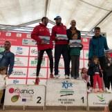 Podium General Masculina XIII Media Maratón Alburquerque