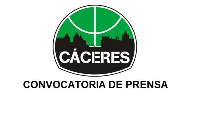 Rueda de Prensa Cáceres Basket