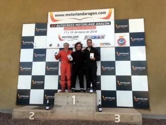 Segunda plaza de José Antonio Casado en la Off Road Series del Autocross de Lleida